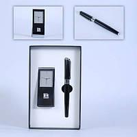 Часы настольные+ручка Pierre Cardin