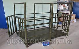 Весы для животных TRIONYX  П1220-СК-1500 1250х2000 мм, НПВ: 1500 кг