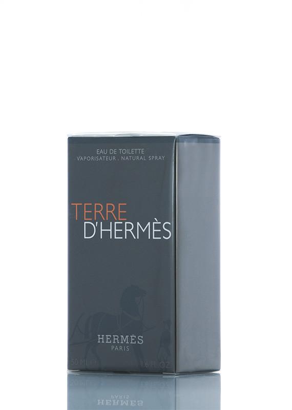Туалетная вода Hermes TERRE d'HERMES для мужчин 50 мл Код товара 6039