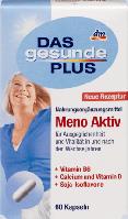 Для регулювання гормонального балансу DAS gesunde PLUS Meno Aktiv Kapseln, 60 St