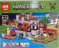 Конструктор Minecraft 517 дет. 18013+ Китай