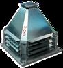 Вентиляторы крышные, радиальные, с выходом потока в сторону, КРОС 6-3,55