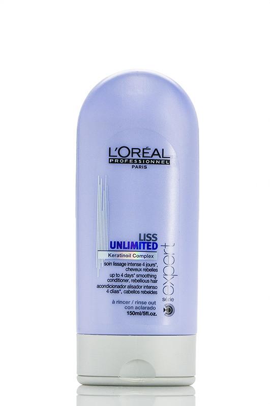 Loreal Prof. Liss Unlimited  Уход для гладкости непослушных волос  до 05,2018 спец цена  150 мл Код товара 2881