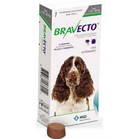 Таблетка (жевательная) от блох и клещей Бравекто (Bravecto) для собак (10-20кг)  1таблетка