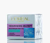 Loreal Увлажнение Эксперт - Крем-гель - Увлажняющий для нормальной комбинированной кожи