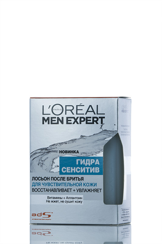 Loreal Men Expert  Лосьон После бритья  Чувствительная кожа для мужчин 100 мл Код товара 20399