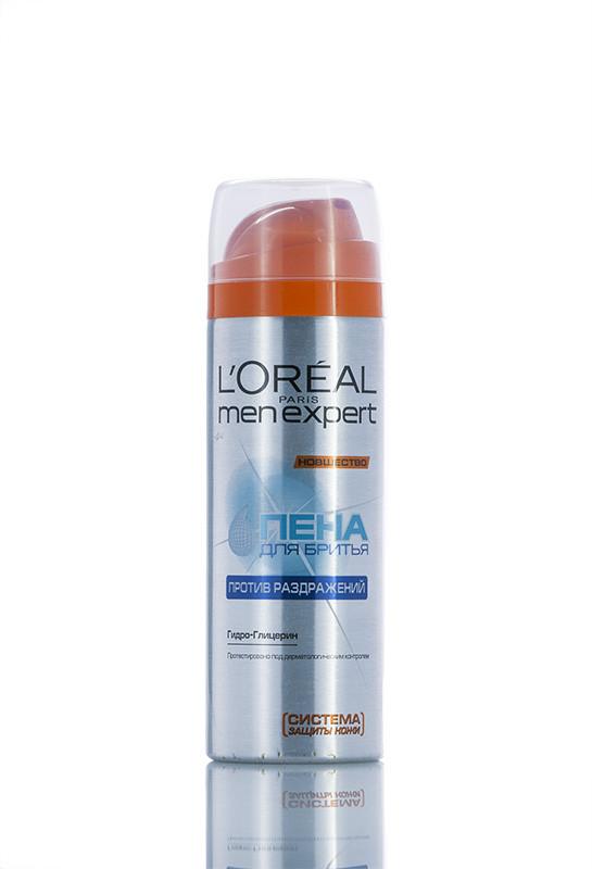Loreal Men Expert - Пена Для бритья - Против Раздражения для мужчин 200 мл Код 18343