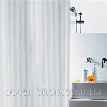 Шторка для ванной текстильная Spirella MAGI 240х200, белая