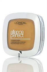Loreal  Alliance Perfect Compact Powder  Пудра компактная  N4 Бежевый 9 мл Код 14885