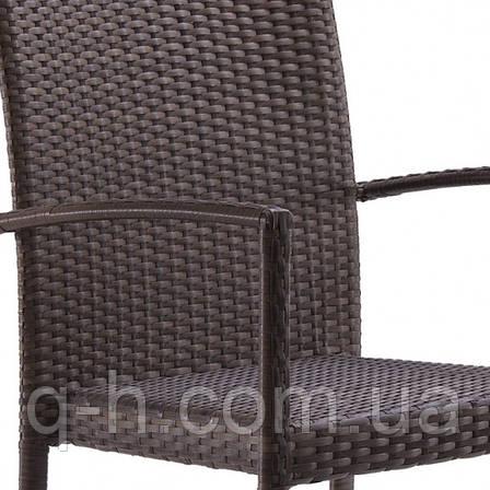 Кресло плетеное из искусственного ротанга AKRA, фото 2