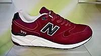 Мужские кроссовки New Balance 999 бордовые, фото 1