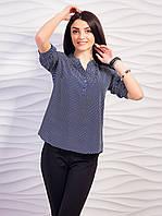 Стильная женская блуза из шифона