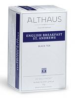 Чай Althaus English Breakfast St.Andrews ( Английский завтрак Св.Эндрюса) 20 х1,75гр, фото 1
