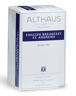Чай Althaus English Breakfast St.Andrews ( Английский завтрак Св.Эндрюса) 20 х1,75гр