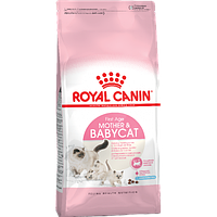 Royal Canin Mother & Babycat (БЕБИКЭТ) для котят 1-4 месяца, беременных и лактирующих кошек