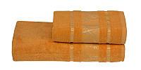 Полотенце бамбуковое 70х140 Gursan Bamboo оранж