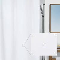Шторка для ванной текстильная Spirella RICCO 180х200, белая