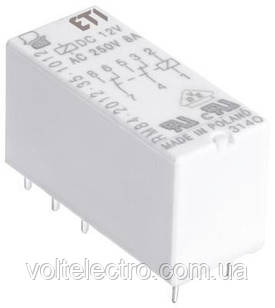Промежуточное реле миниатюрное MER2-024 АC 2p