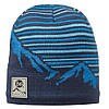 Шапка Knitted & Polar Hat Buff Laki Blue