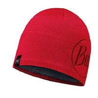 Шапка Knitted & Polar Hat Solid Logo Red Samba