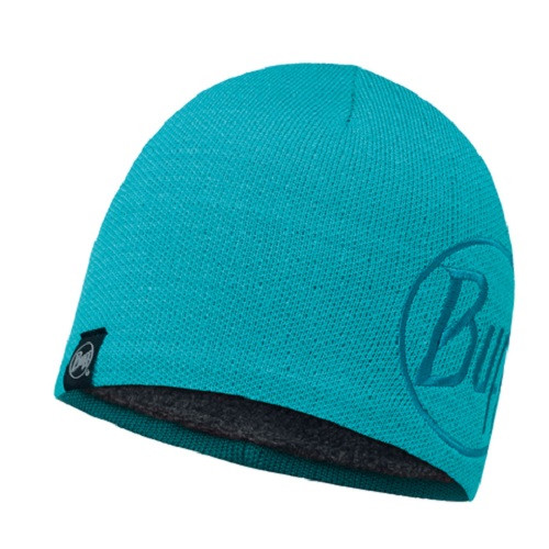 Шапка Buff Knitted & Polar Hat Solid Logo Turquise
