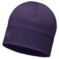 Шапка Merino Wool Hat Buff Solid Plum