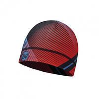 Шапка Microfiber 1 layer Hat Buff Retro Lines Red