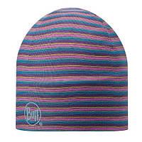 Шапка Microfiber 2  layers Hat Buff Stripes Plum