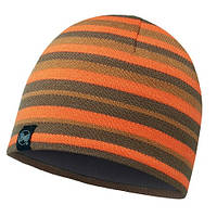 Шапка Knitted & Polar Hat Buff Lakistripes Fossil