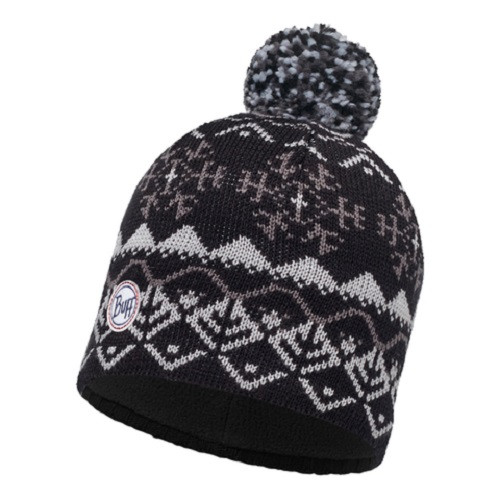 Шапка Buff Knitted & Polar Hat Vail Black