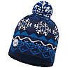 Шапка Knitted & Polar Hat Vail Dark Demin