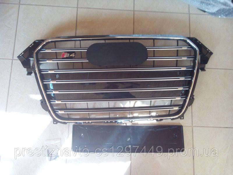Решетка радиатора на Audi A4 (2012-2016) в стиле S4