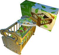 Детский набор для творчества Кроватка  для куклы бук Украина