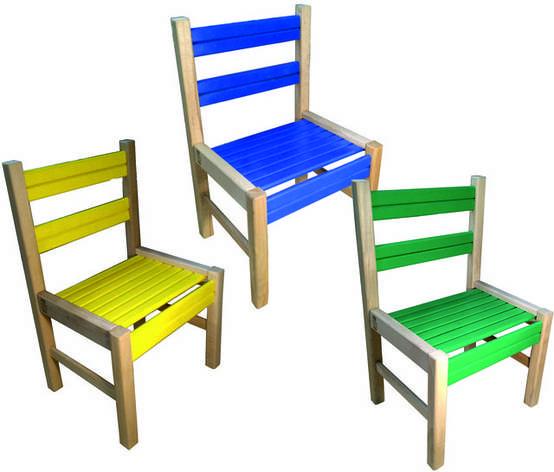 """Детский деревянный стульчик """"Медвежонок"""", фото 2"""
