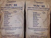 Протеин сывороточный Ostrowia WPC 80 (Milkiland; Польша) Оригинал.