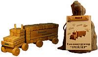 Деревянная игра набор констуктор  для  детей Трейлер
