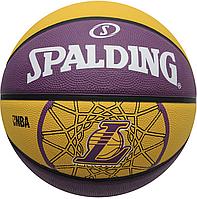 Баскетбольный мяч Spalding NBA Team LAKERS