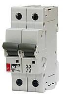 Двухполюсный автоматический выключатель 63А Etimat6 C- 63/2
