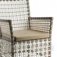 Плетеное кресло из искусственного ротанга Ajour, фото 3