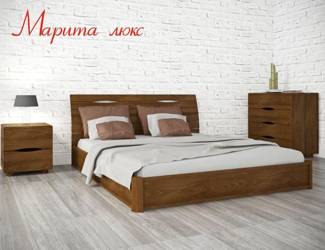 Кровать двуспальная Марита Люкс (Интерьер)