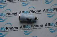 Автомобильное зарядное устройство для Apple iPhone 3G / 3GS / 4G / 4GS / 5G / 5GS / 5C / 6 / 6+ / iPad White