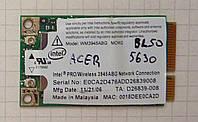 Wi-Fi адаптер (модуль) WM3945ABG / Acer 5630 BL50 / Anatel 0151-06-2198