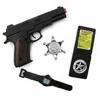 Набор полицейского (4 предмета)