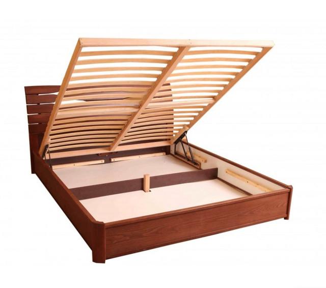 Кровать двуспальная Марита Люкс с подъёмным механизмом (Ламели)