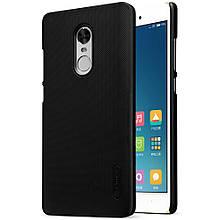 Чехол накладка Nillkin Super Frosted для Xiaomi Redmi Note 4x черный