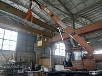 Монтаж, демонтаж и пуско-наладка кранов