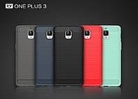 TPU чехол накладка Urban для OnePlus 3 / 3T (5 цветов)