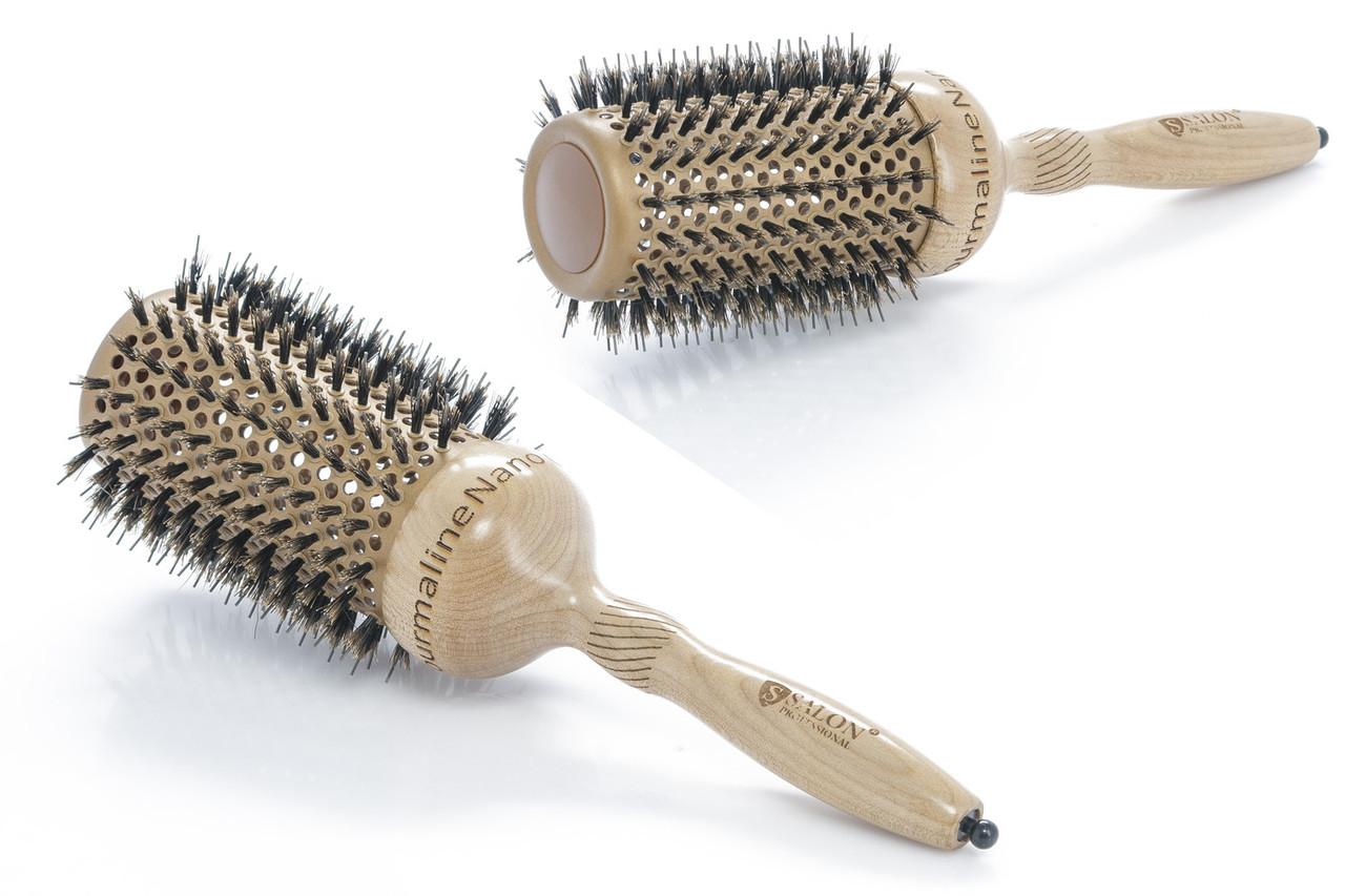 Salon Брашинг керамический натуральная щетина 5R505A4  Код 3592