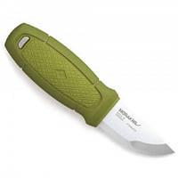 Нож MORAkniv Eldris, нерж. сталь, зеленый, с ножнами