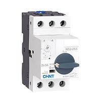 Автомат захисту двигуна NS2-25X 0.1-0.16 A Chint